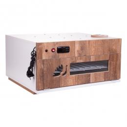 """Chocadeira ALTA PERFORMANCE Premium (120 OVOS) PID com """"4 ventiladores"""" Bivolt 110-220 ovoscópio (PVP 120)"""