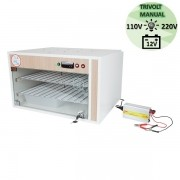 Chocadeira ALTA ECLOSÃO Automática Trivolt PID  220 ovos com 7 ventiladores (GC220T)