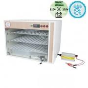 Chocadeira ALTA ECLOSÃO Automática Trivolt 330 ovos com 7 ventiladores e controle de Umidade (GC330TU)