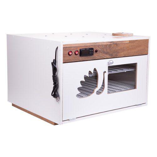 Chocadeira Automática Bivolt PID 220 ovos com 4 ventiladores e ovoscópio