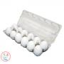 Embalagem Galinha 12 Ovos (100  peças)