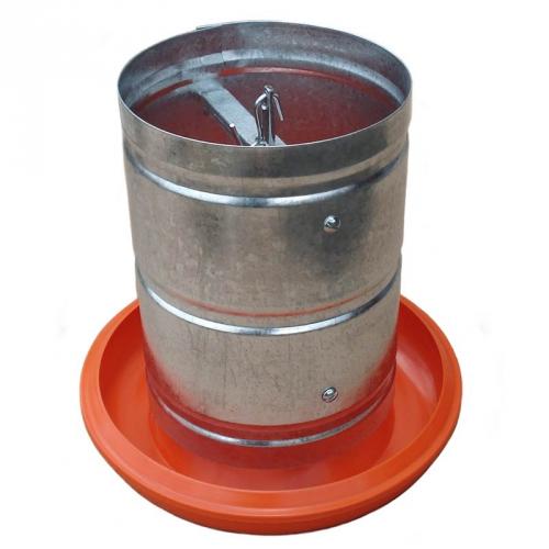Comedouro Tubular 5 kg Galvanizado