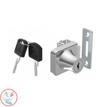 fechadura para porta de vidro com chave