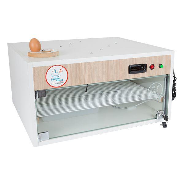 Chocadeira ALTA ECLOSÃO Automática com 4 ventiladores Bivolt PID 120 ovos (GC120PID)