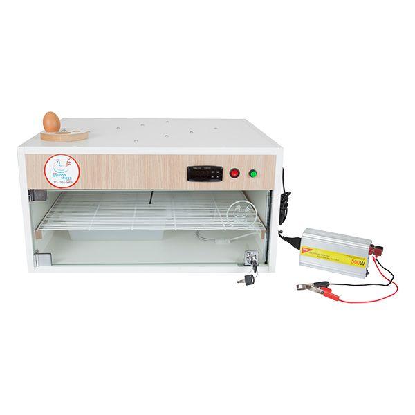 Chocadeira ALTA ECLOSÃO Automática com 4 ventiladores Trivolt PID 120 ovos (GC120T)