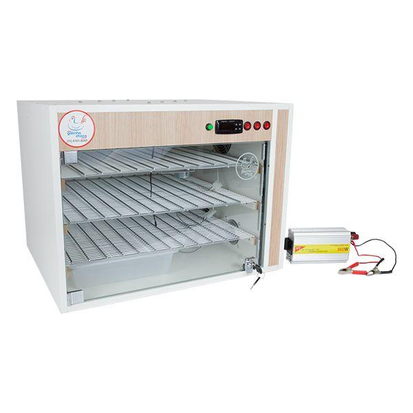 Chocadeira ALTA ECLOSÃO Automática Trivolt PID 330 ovos com 7 ventiladores (GC330T)