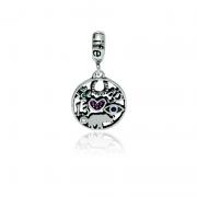 Berloque Amuleto Em Prata 925