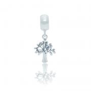 Berloque Árvore Em Prata 925