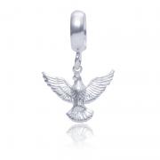 Berloque Divino Espírito Santo Em Prata 925