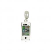 Berloque Iphone Em Prata 925