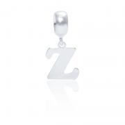 Berloque Letra Z Em Prata 925