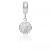 Berloque São Bento Em Prata 925