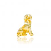 Berloque Separador Cachorrinho II Dourado