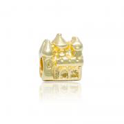 Berloque Separador Castelo Dourado