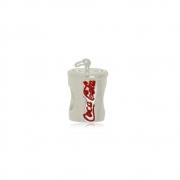 Berloque Separador Copo de Coca Cola Prata 925