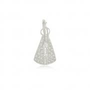 Pingente Nossa Senhora Luna Em Prata 925