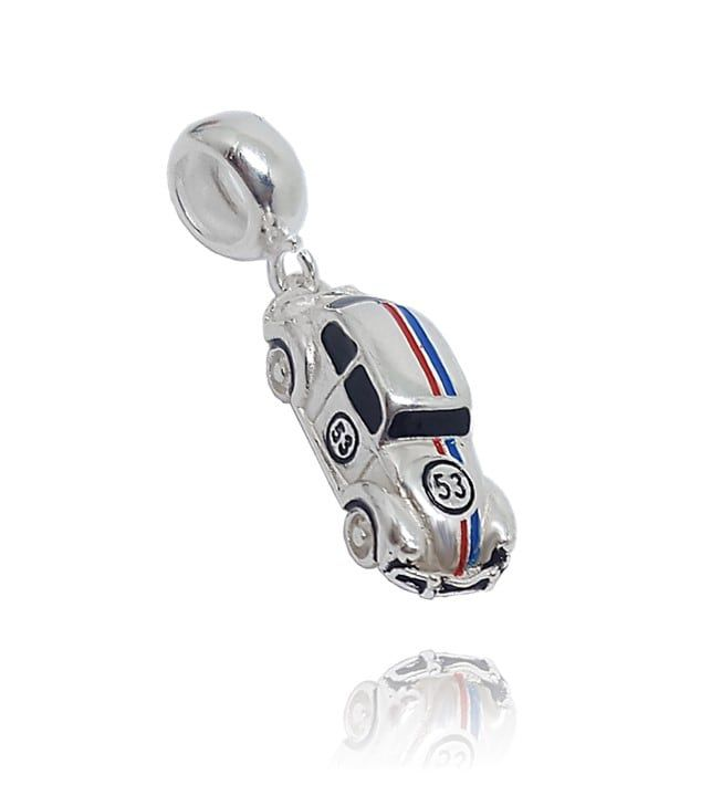 Berloque Fusca Herbie Em Prata 925