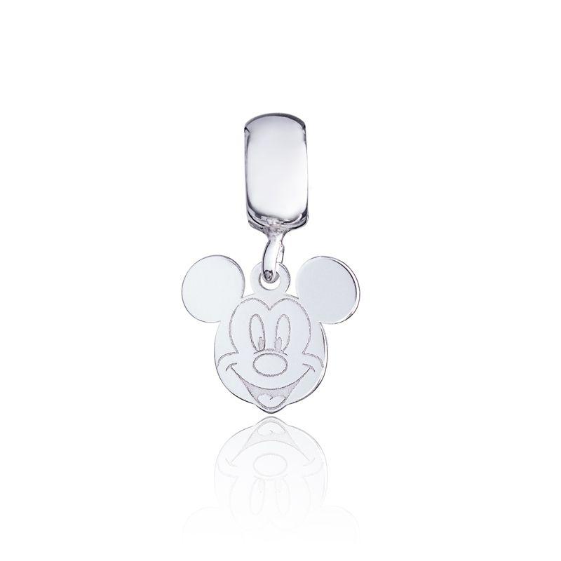 Berloque Mickey Em Prata 925