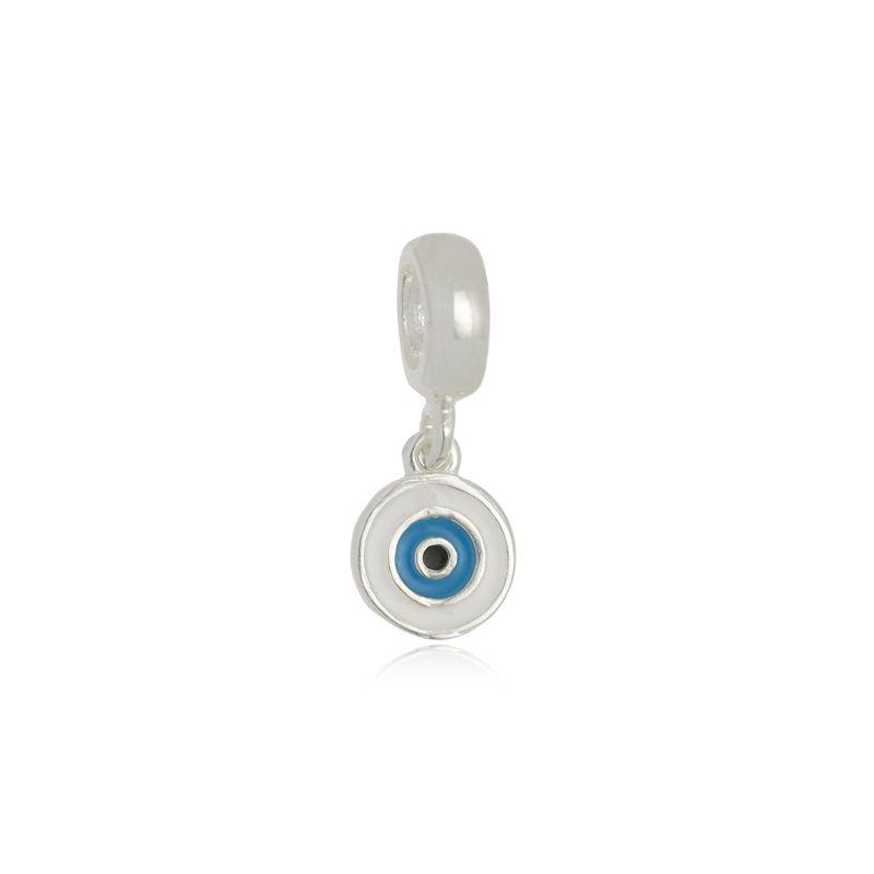 Berloque Olho Grego III Em Prata 925
