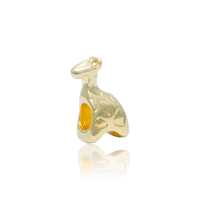 Berloque Separador Girafa Dourada
