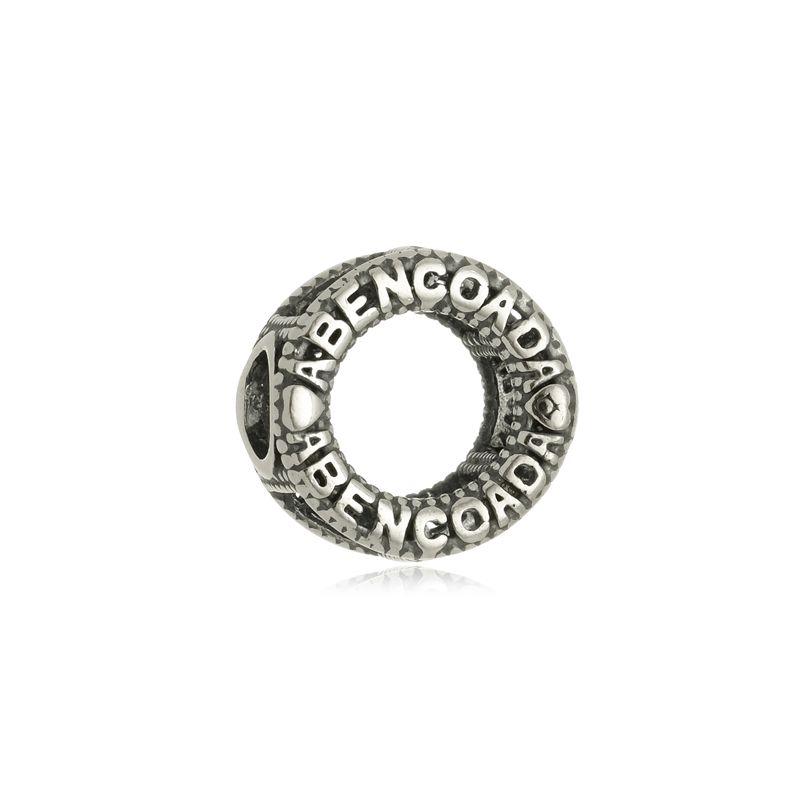 Berloque Separador Mandala Abençoada Em Prata 925