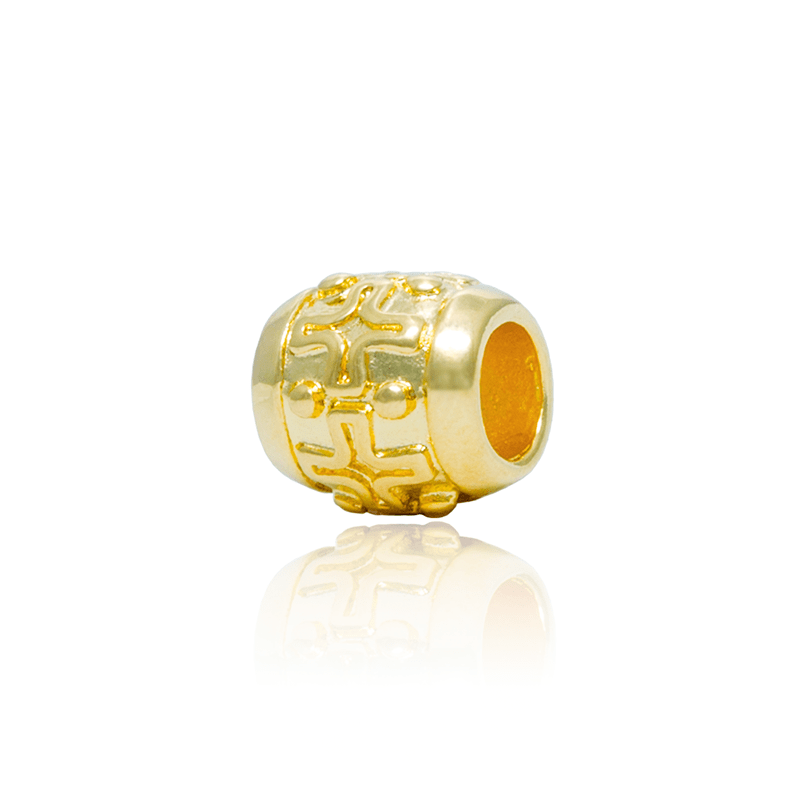 Berloque Separador Sinal de + Dourado
