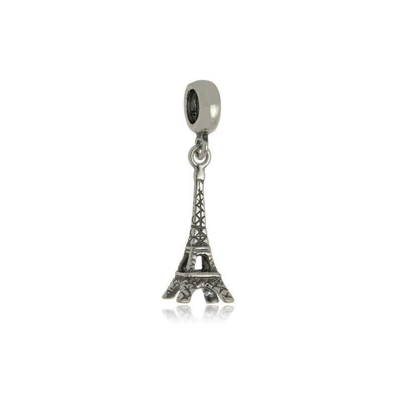 Berloque Torre Eiffel II Em Prata 925