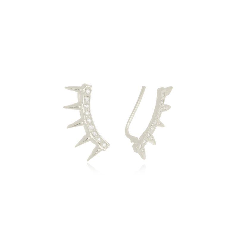 Brinco Ear Cuff Luana Em Prata 925