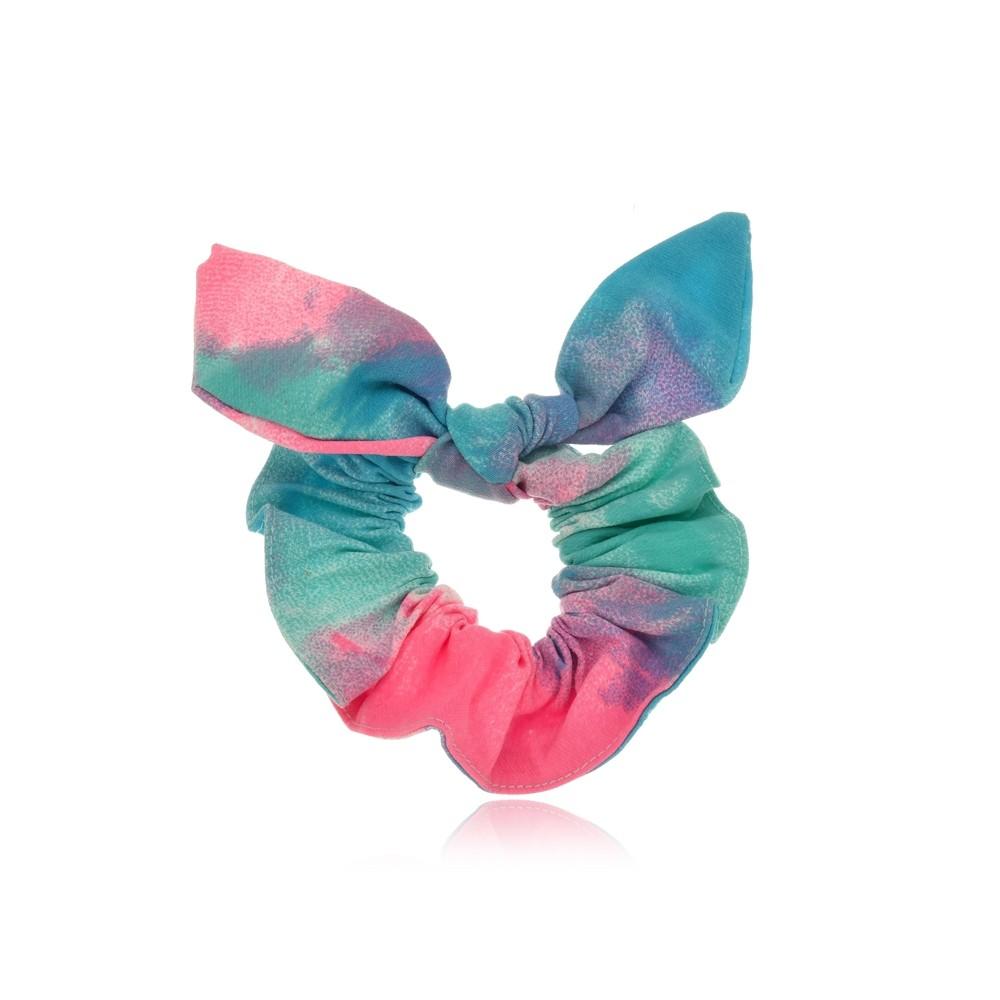 Elástico de Cabelo Scrunchie Tie Dye I