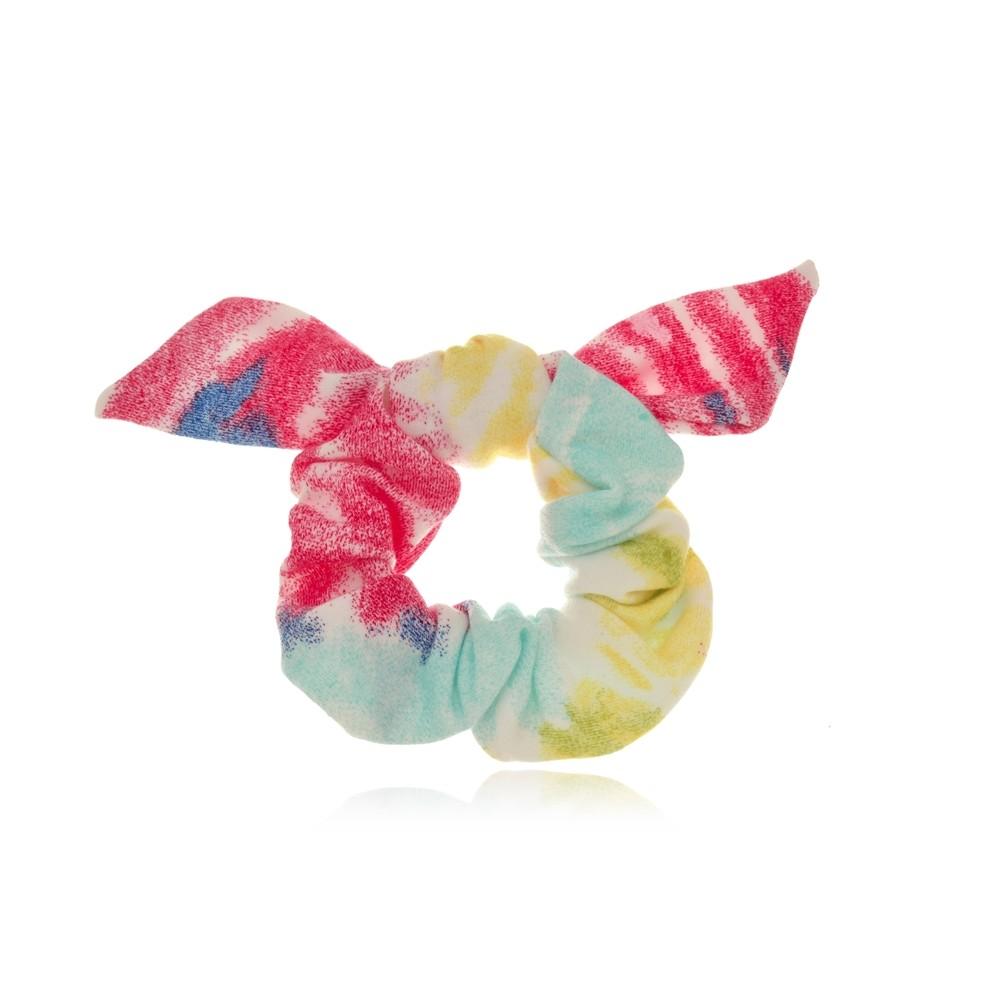 Elástico de Cabelo Scrunchie Tie Dye III