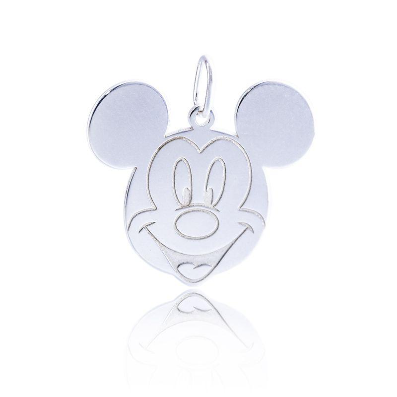 Pingente Mickey Em Prata 925