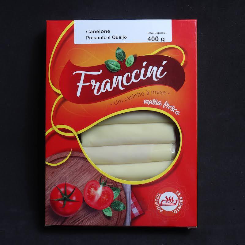 Canelone - Pesto  - Franccini Massas