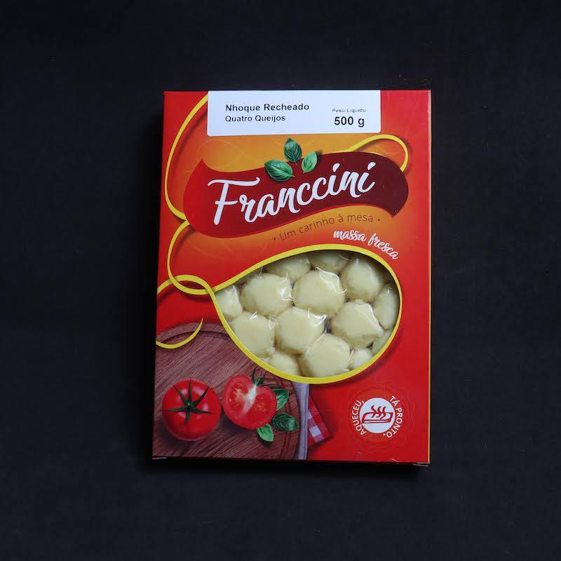Nhoque Batata Recheio Queijo  - Franccini Massas