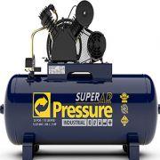Compressor de Ar 20 Pés 200 Litros - Alta Pressão - Trifásico Super AR Pressure