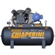 Compressor de Ar Industrial Monofásico Chiaperini 200 litros - 20 pés