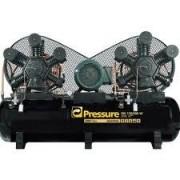 Compressor  Industrial PRESSURE -  ON 120/500 – 120 pés - 500 LITROS - 175 libras - trifásico