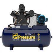 Compressor PRESSURE SUPER AR 40/425 - 40 pés - 425 litros - 175 libras - trifásico
