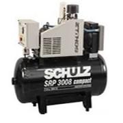 Compressor Rotativo Parafuso SCHULZ - SRP 3008-200- 200 litros - 130,5 lbf - 26 pés³min- 75 HP Trifásico