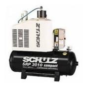 Compressor Rotativo Parafuso - SRP 3010/200- 200 litros - 135 lbf - 32 pés³min- 10 HP Trifásico