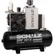 Compressor Rotativo Parafuso - SRP 3015E III Compact - 200 litros - 9 BAR - 15 HP Trifásico
