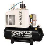 Compressor Rotativo Parafuso - SRP 3015/200 - 200 litros - 109 lbf - 59 pés³min- 15 HP