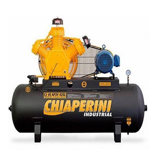 COMPRESSOR 40 pcm/AP3V 425 litros  Trifásico - CHIAPERINI