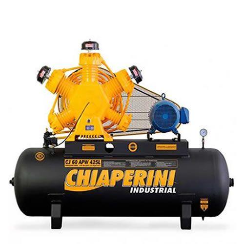 Compressor Industrial 60 Pés 425 Litros 15 HP 220/380 CHIAPERINI- CJ60APW425L