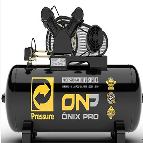 COMPRESSOR PROFISSIONAL ONP20/200LTRS- TRIFÁSICO - PRESSURE