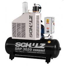 Compressor Rotativo Parafuso - SRP 3020-250 - 250 litros - até 160 lbf - até 84 pés³min - 20 HP Trifásico