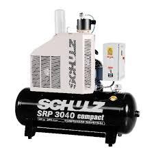 Compressor Rotativo Parafuso - SRP 3040-500 - 500litros - 109lbf - 165pés³min - 40HP Trifásico