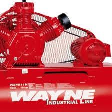 Compressor WAYNE W 84011H - 40 pés - 425 litros - 175 libras - trifásico