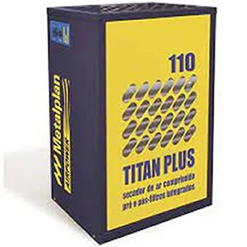 SECADOR DE AR 110 PCM COM PRÉ E PÓS FILTRO 220V TITAN PLUS-110 METALPLAN