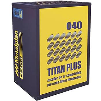 SECADOR DE AR 40 PCM COM PRÉ E PÓS FILTRO 220V TITAN PLUS-040 METALPLAN