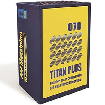 SECADOR DE AR 70 PCM COM PRÉ E PÓS FILTRO 220V TITAN PLUS-070 METALPLAN